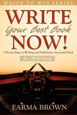 Write Your Best Book Now