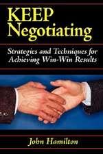 Keep Negotiating