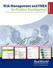 Risk Management and Fmea for Product Development, 4th Edition