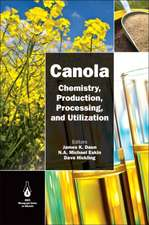 Canola: Chemistry, Production, Processing, and Utilization