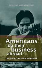 Americans Do Their Business Abroad:  The Peace Corps Latrine Reader