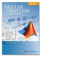 MATLAB & Simulink Student Version 2010a