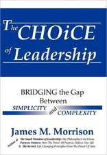 The Choice of Leadership