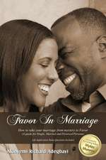 Favor in Marriage