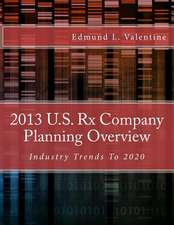2013 U.S. RX Company Planning Overview