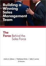 Building a Winning Sales Management Team