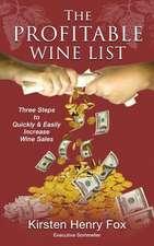 The Profitable Wine List