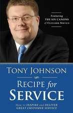 Recipe for Service