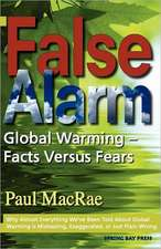 False Alarm:  Global Warming Facts Versus Fears