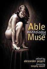 Able Muse Anthology:  A North American Rite of Passage