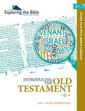 Introducing the Old Testament - Leader's Guide