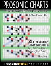 Fretboard Chord Charts for Guitar - In Altered Tuning