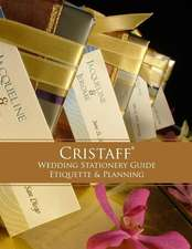 Cristaff Wedding Stationery Guide - Etiquette and Planning