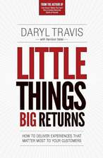 Little Things Big Returns