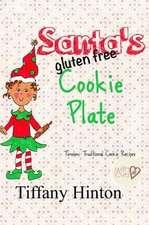 Santa's Gluten Free Cookie Plate