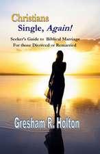 Christians Single, Again!