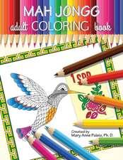 Mah Jongg Adult Coloring Book