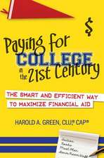 Paying for College in the 21st Century