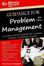 Guidance for Problem Management