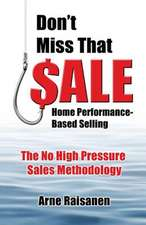 Don't Miss That Sale