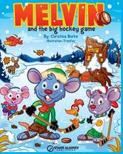 Melvin and the Big Hockey Game (Softcover)