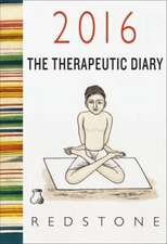 2016 Redstone Diary: The Therapeutic Diary