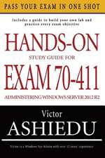 Hands-On Study Guide for Exam 70-411