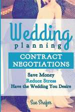 Wedding Planning Contract Negotiation