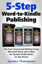 5-Step Word-To-Kindle Publishing