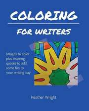 Coloring for Writers