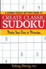 Create Classic Sudoku