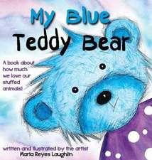 My Blue Teddy Bear
