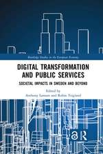 Digital Transformation and Public Services