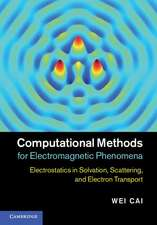 Computational Methods for Electromagnetic Phenomena: Electrostatics in Solvation, Scattering, and Electron Transport