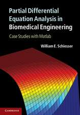 Partial Differential Equation Analysis in Biomedical Engineering: Case Studies with Matlab