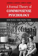 A Formal Theory of Commonsense Psychology: How People Think People Think