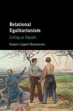Relational Egalitarianism: Living as Equals