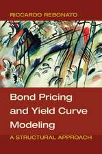 Bond Pricing and Yield Curve Modeling  : A Structural Approach