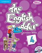 The English Ladder Level 4 Activity Book with Songs Audio CD