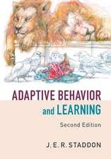 Adaptive Behavior and Learning