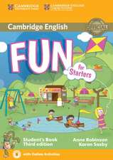 Fun for Starters Student's Book with Audio with Online Activities