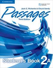Passages Level 2 Student's Book A with Online Workbook A