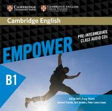 Cambridge English Empower Pre-intermediate Class Audio CDs (3)