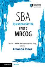 SBA Questions for the Part 2 MRCOG