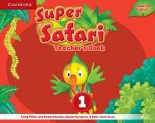 Super Safari American English Level 1 Teacher's Book