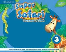 Super Safari American English Level 3 Teacher's Book
