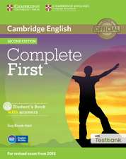 Complete First Student's Book with Answers with CD-ROM with Testbank