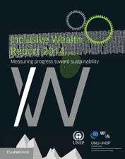 Inclusive Wealth Report 2014: Measuring Progress toward Sustainability