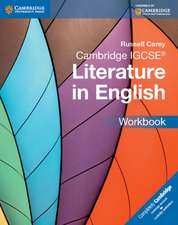 Cambridge IGCSE® Literature in English Workbook
