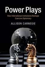 Power Plays: How International Institutions Reshape Coercive Diplomacy
